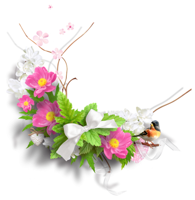 Spring Flowers Png PNG Images