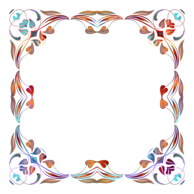 Floral Border Png Images Picture PNG Images
