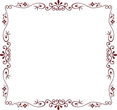 Floral Borders Png PNG Images