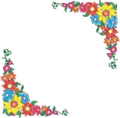 Flower Border Clipart At Picture