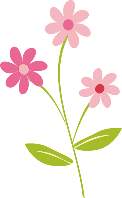 Flowers Border Clipart Png Pictures PNG Images