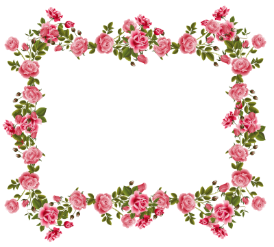 Flowers Borders Pictures PNG Images