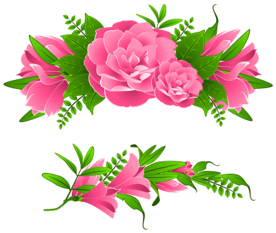 Flowers Borders Png Transparent Pictures PNG Images