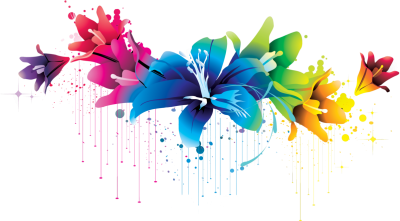 Colorful Flower Vector Clipart Png