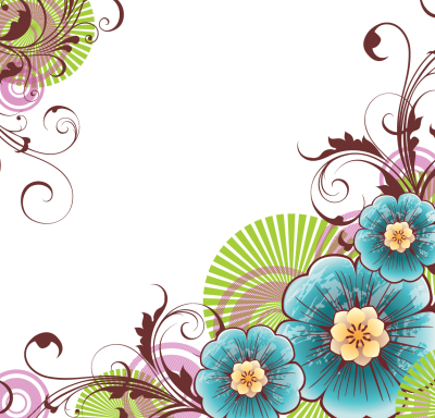 Flower Vectors Various Card Images PNG Images