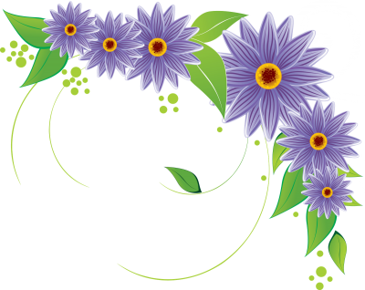 Flower Vectors Various Png PNG Images