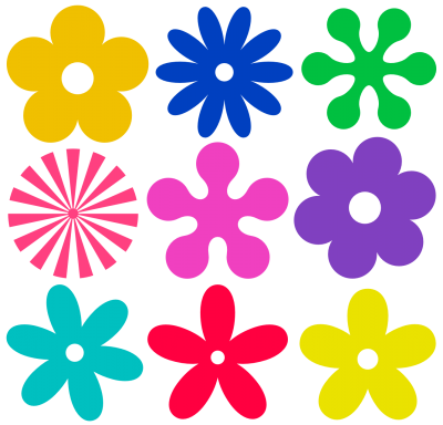 Flowers Vectors Png Transparent