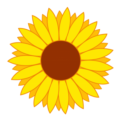 Gold Flower Vector Png Transparent