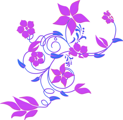 Purple Desing Vector Flower Png Clipart