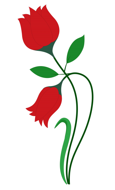 Red Rose Flower Vector Png Transparent Image PNG Images