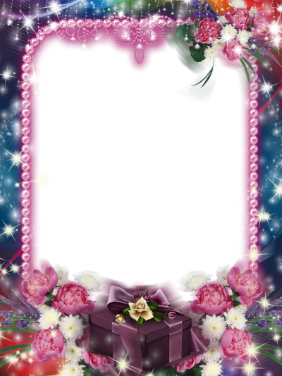 Pink Ornate Background Frame Fotos Clipart Png