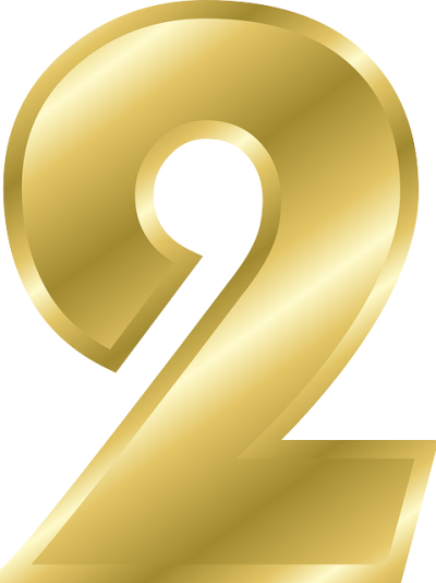 Free Number 2 Png PNG Images