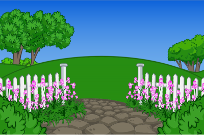 Trees, Soil, Gardener, Cartoon Garden Transparent Free PNG Images