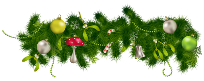Christmas Decorations Clipart Borders Png Images PNG Images
