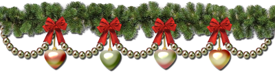 Christmas Garland Clip Art Borders Png PNG Images