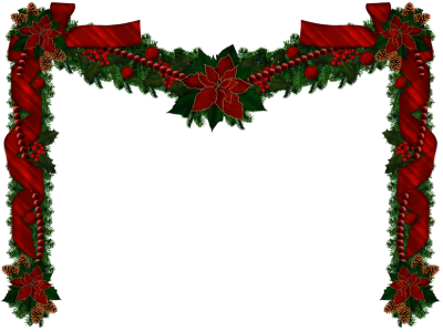 Christmas Garland Png Christmas Transparent PNG Images
