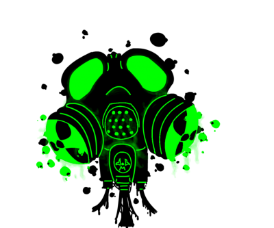 Gas Mask Green Toxic Png PNG Images