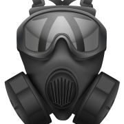 Gas Mask, Metal, Plastic, Transparent Images   PNG Images