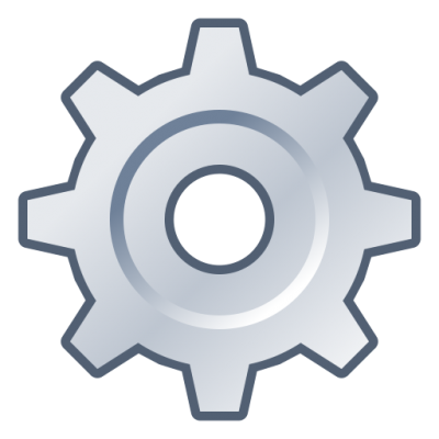 Setting Mark, Grey Gear Png icon PNG Images