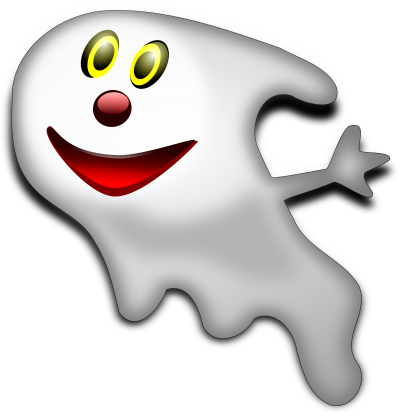 Cute Ghost Picture PNG Images