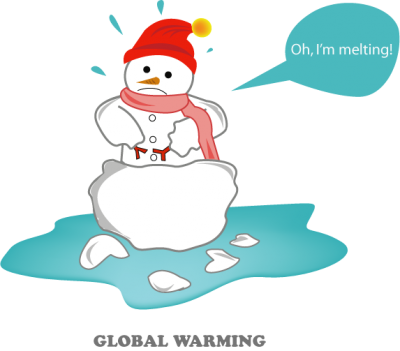 Snowman Global Warming Png
