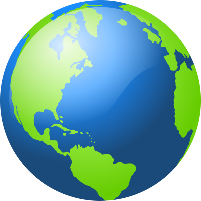 Blue And Green Globe image Png Free PNG Images
