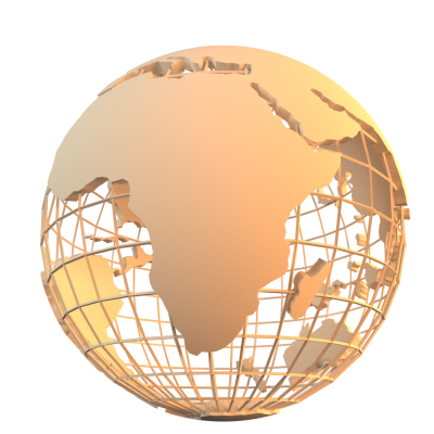 Motion Graphics, Earth, Gold Globe Transparent Photos PNG Images