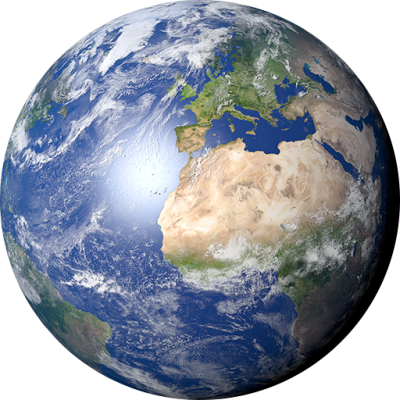 Space Globe Clipart Transparent PNG Images
