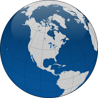Striped Blue Globe Transparent Clipart PNG Images