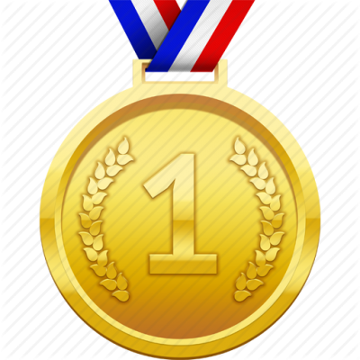 Award, First Place, Gold, Medal, Prize, Winner Icon Png