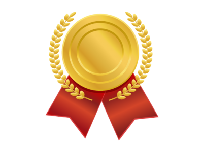 Classical Gold Medal Png