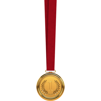 Gold Medal First Transparent Png