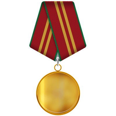 Gold Medal Ribbon Transparent Png PNG Images