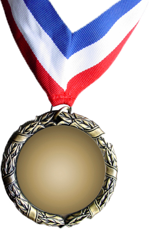 Metal Gold Medal Png