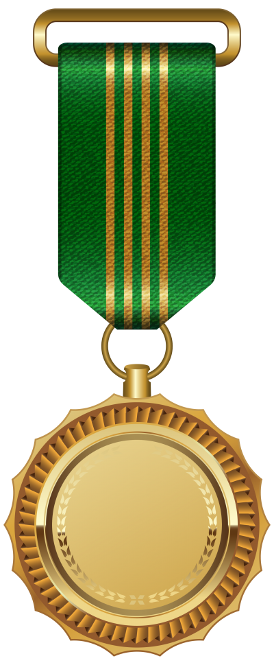 New Gold Medal Png Clipart