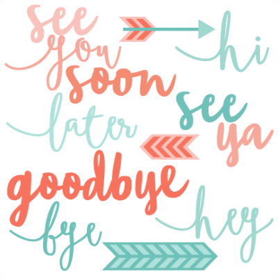 Goodbye Clipart Photo 14 PNG Images