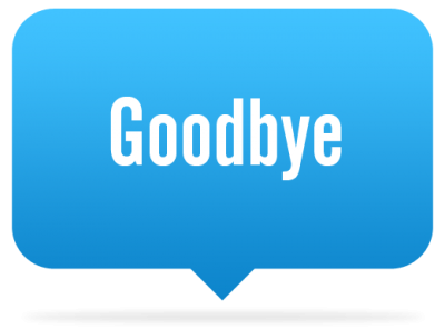 Goodbye Clipart Photo