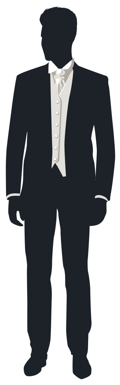 Black Suit Groom Png Clip Art