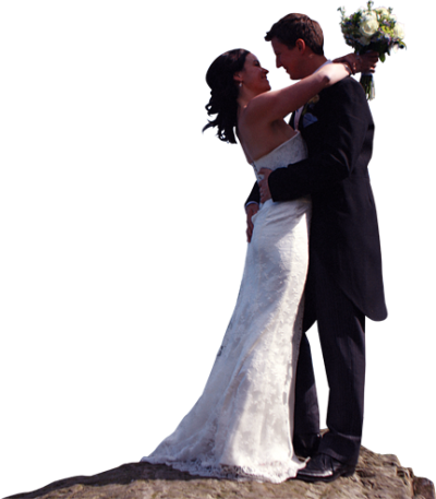 Groom And Bride Png PNG Images