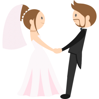 Groom, Bride, People, Romantic Icon Png