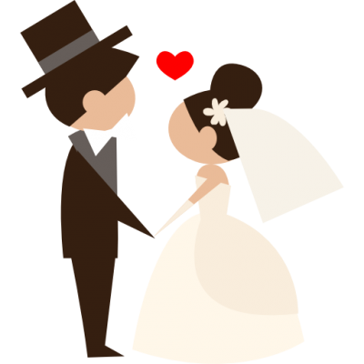 Groom, Bride, People, Wedding Couple, Heart Icon Png PNG Images
