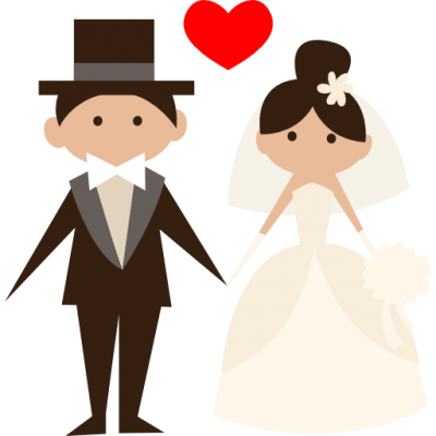 Groom, Bride, People, Wedding Couple, Romantic Icon Png