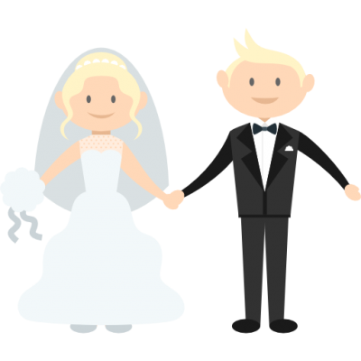 Groom, Romantic, Bride Icon Png