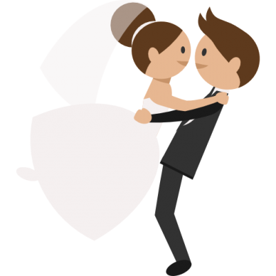 Groom, Romantic, People, Wedding Couple, Bride Icon Png PNG Images