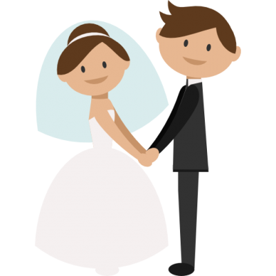 Wedding Couple, Groom, Bride, Romantic Icon Png