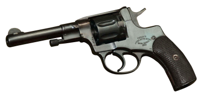 Black And Gray Antique Revolver Gun Free Download PNG Images