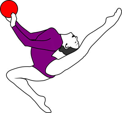 Gymnastics Clipart PNG File PNG Images