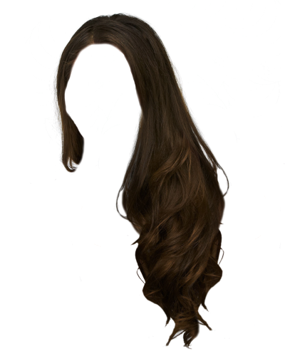 Photo Of Black Woman Hair PNG Lying On Its Side PNG Images