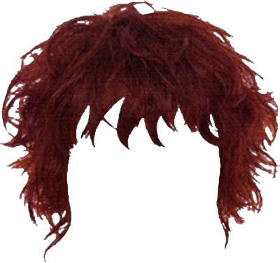 Red Hairstyles Png Transparent Images   PNG Images