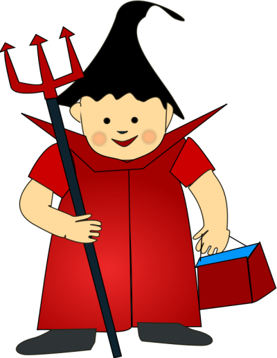 Boy In Halloween Costume Png Clipart